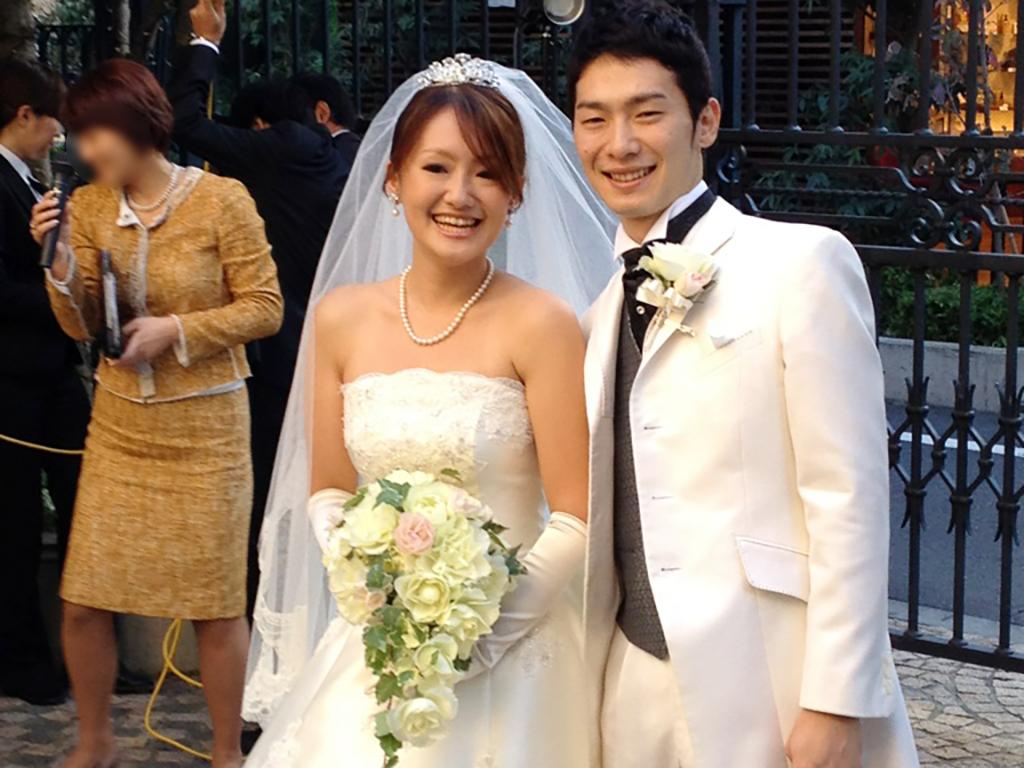 SBC横浜院の中村さんのウェディングドレス姿